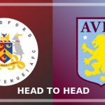 Image of the Bradford (Park Avenue) and Aston Villa crests side by side